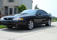 1998 Black Cobra Mustang - Jermey Angel '98
