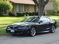 1998 Black Ford Mustang GT Pictures
