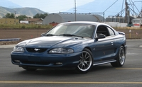 1998 Blue Mustang GT - Tate Brown '98