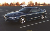 1998 Dark Blue Mustang GT - Matt Burns '98