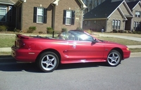 1998 Laser Red Mustang GT Convertible - Layth Tamimi '98