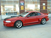 1998 Red Mustang GT- Clint Clifton 98'