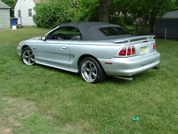 1998 Silver Mustang GT Convertible Pictures - Rich '98