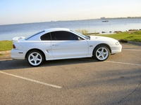 1998 White Mustang GT Coupe Pictures - Dave Agee '98