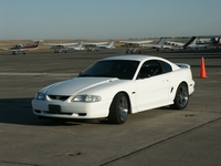 1998 White Mustang GT Pictures - Michel Pelletier '98