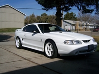1998 White SVT Cobra - Bill Meyers '98