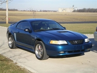 2000 Atlantic Blue Mustang GT - Ken Jacob '00