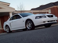 2000 Crystal White Mustang Spring Edition GT - Sam Poteat '00