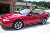2000 Laser Red Mustang GT Convertible - Mitch '00