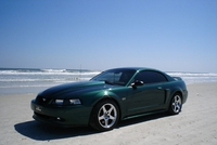 2000 Supercharged Tropic Green Mustang GT Coupe - Derek Beans '00