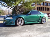 2000 Tropic Green Black Widow Mustang GT Coupe - Mike Kinderdine '00