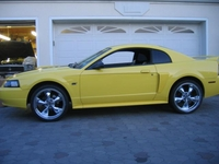 2000 Yellow Ford Mustang GT�Spring Feature Edition - Jimmy Bellotti '00