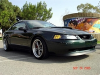 2001 Deep Forest Green Mustang Pictures- Edgar Perez '01