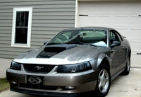 2001 Gray Mustang 3.8L - A.M. Clevenger '01