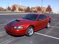 2001 Laser Red Mustang GT - Heath Matlock '01