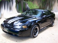 2001 Midnight Black Mustang V6 Pictures - Angel L. Santiago '01