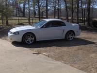 2001 Pure White V6 Mustang- Anthony Picard '01