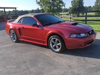 2001 Red Convertible Mustang GT - Jeremy 01'