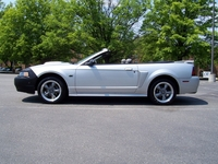 2001 Silver Ford Mustang GT Convertible Pictures - Joe 'Space Cadet' '01