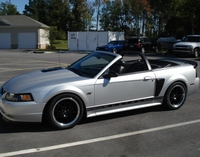 2001 Silver Mustang GT Convertible - Cody Weakland '01