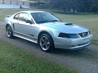 2001 Silver Mustang V6 Coupe - Pete Parry '01