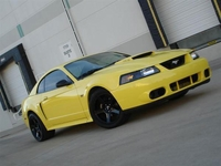 2001 Zinc Yellow Mustang GT Pictures - Jon 'Badfish' '01