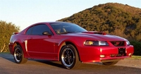2002 Metallic Red Mustang Coupe - Phillip Jacques '02