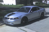 2002 Satin Silver Mustang GT - Michael Lacombe '02