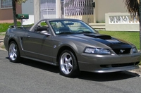 2002 Stone Grey Mustang Convertible GT Pictures- Carlos Maisonet '02