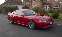 2002 Torch Red Mustang GT - Richard Marvich '02