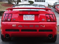2002 Torch Red Saleen Mustang GT - Pauly Daiuto '02