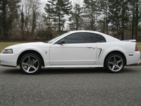 "2002 White Mustang V6 - Matt ""Cappy"" '02"
