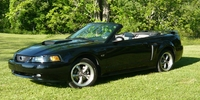 2003 Black Mustang GT Convertible - James Lyvers '03