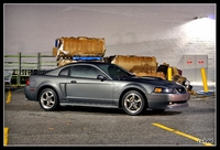 2003 Dark Shadow Grey Mustang GT Coupe - Christie Sledd '03