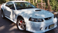 2003 Ghost White Mustang GT - Stephen Cicalese '03