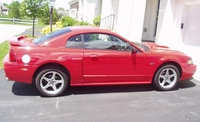 2003 Red Mustang GT - M.D. '03