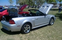 2003 Silver Metallic Mustang GT Convertible - David Adams '03