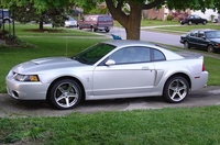 2003 Silver Mustang Cobra Pictures - Gene '03