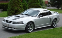 2003 Silver Mustang GT - Jessica Blevins '03