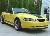 2003 Yellow Mustang GT Mach 1 Conversion - Tom Longerbeam '03