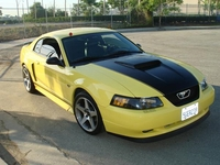 2003 Zinc Yellow Mustang GT - Art Torres '03
