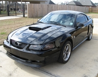 2004 Black Mustang GT Coupe - Vernon Langley '04