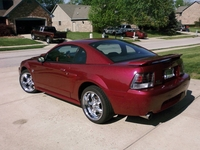 2004 Crimson Red Mustang GT 40th Anniversary Edition - Mike Smith '04
