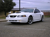 2004 Crystal White Mustang GT Pictures- Jim Sublett '04
