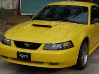 2004 Screaming Yellow Mustang GT - Larry Whaley '04