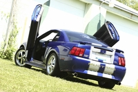 2004 Sonic Blue Metallic 3.9L V6 Ford Mustang Pictures - Kimberly 'Stang Gurl' '04