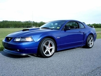 2004 Sonic Blue Mustang GT Coupe - Michael Maduske '04