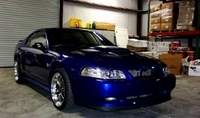 2004 Sonic Blue Mustang GT - Shawn Tomeo '04