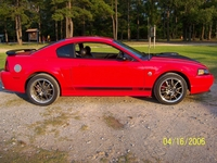 2004 Torch Red Mach 1 Coupe - Geoff Whittington '04