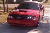 2004 Torch Red Mustang GT Convertible - Luis Botello '04